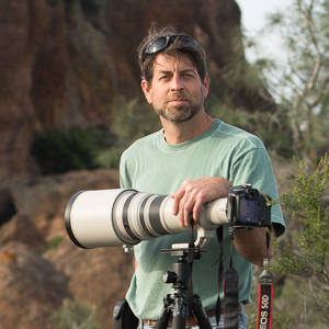 Stephen Fischer at Pinnacles National Monument